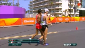 Rio 2016: Mid-race collision costs Canada's Evan Dunfee an Olympic medal