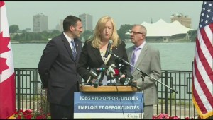 Minister Raitt announces new authority for Windsor-Detroit bridge