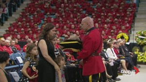 RCMP honour families of the fallen