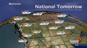Edmonton Weather Forecast: October 3