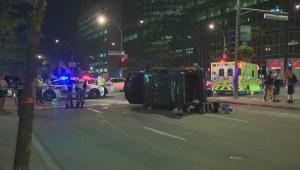 RAW: Accident on René-Lévesque
