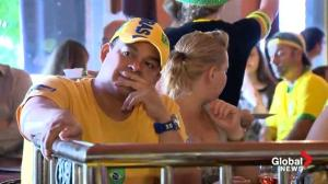 German, Brazil fans in Toronto react to World Cup rout