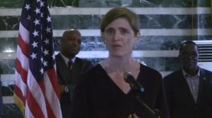 US ambassador to the UN says world must tackle Ebola outbreak 'at it's source'