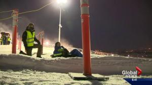 Brendan Parker test drives the new Tube Park at WinSport set to open this weekend