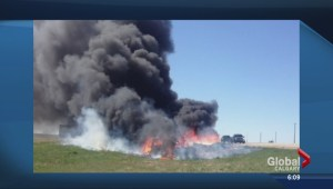 Calgary couple looking for hero who saved them from fiery crash