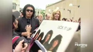 Gene Simmons wants to trademark an iconic rock and roll symbol