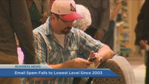 BIV: Email spam falls to lowest level since 2003