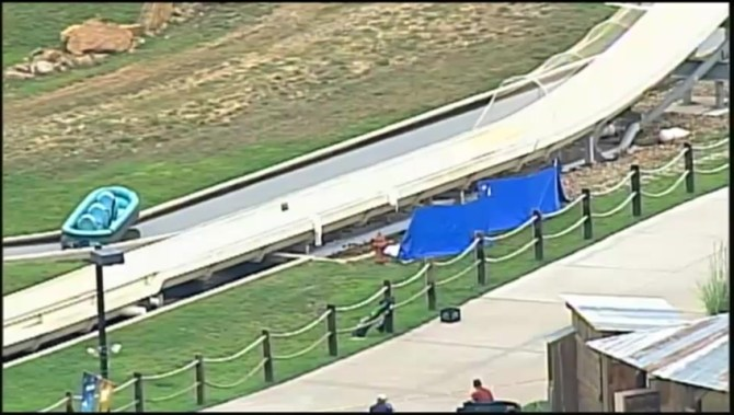 Kansas water park where boy died on slide operated with ...