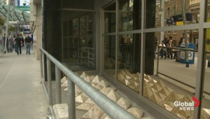 'Homeless spikes' in Calgary