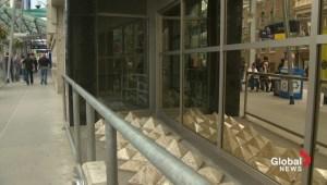 'Homeless spikes' in Calgary