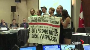Montreal protesters shut down Energy East hearings