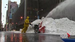 Edmonton actors snowed in in NYC