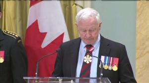 Governor General David Johnston remembers Ottawa shooting