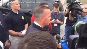 Baltimore police shoot 13-year-old boy holding replica gun
