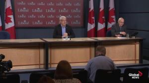 Marc Garneau warns of costs of early election call