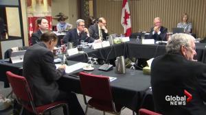 Senators meet in Saint John to discuss pipelines and energy