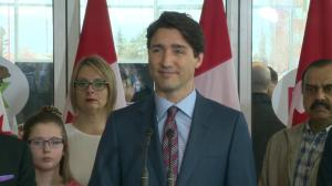 Prime Minister Justin Trudeau says decisions on employment insurance were based on 'cold hard mathematics'