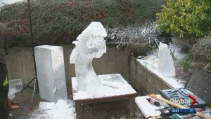 Ice carving with Ryan Cook