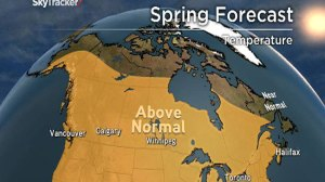 Looking ahead to warmer weather: Anthony Farnell gives spring forecast