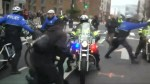 Trump inauguration: dozens of anti-Trump protesters pepper-sprayed