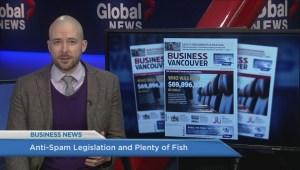 BIV: Anti-spam legislation and Plenty of Fish