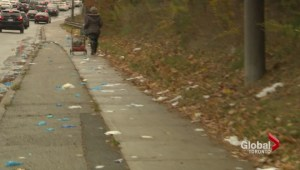 North York street littered with medical waste