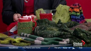 Knitting makes fashion comeback