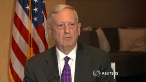 Mattis, unlike his boss, has no issues with media