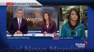 Lac La Biche reception centre expands as Anzac evacuees forces south