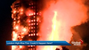 London Building Fire: Canadian fire departments, officials say it's unlikely to happen here