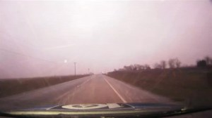Rare 'Thundersleet' event filmed in Texas