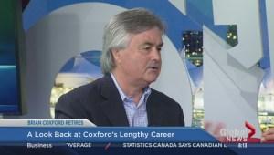 Brian Coxford says goodbye