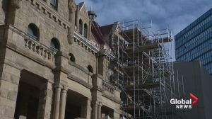 Full cost to restore Calgary's old city hall still unknown