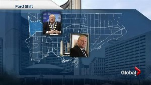 Doug Ford takes over for Rob Ford in Toronto mayor race