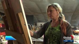 $30K of Alberta artist's work still missing