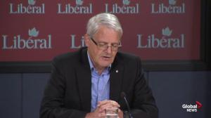 Marc Garneau blasts Conservative 'hypocrisy' on early election call