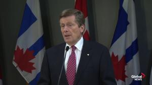 John Tory on why he supports expanded gambling at Woodbine: Jobs, jobs, jobs