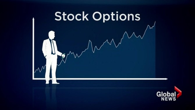 How are stock options taxed canada