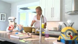 Dieppe teen whips up her own business