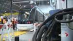 Bombardier provides glimpse inside Kingston Light-rail vehicle assembly plant