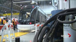 Bombardier provides glimpse inside Kingston Light-rail vehicle assembly plant