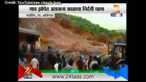 Deadly landslide hits Indian village