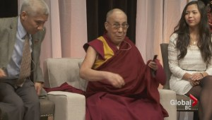 John Oliver High School hosts the Dalai Lama