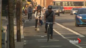 New bike lanes a magnet for vehicles