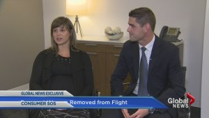 Pregnant Porter passenger removed, airline compensation in question