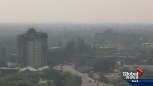 Caution recommended while smoky haze covers Saskatoon