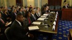 Senate hearing on domestic violence in pro sports