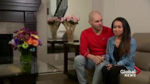 Calgary bride and groom head to the altar after terminal cancer diagnosis