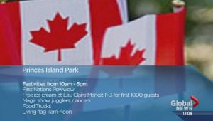 Canada Day activities in Calgary