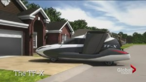Company claims to have developed 'helicopter car'
